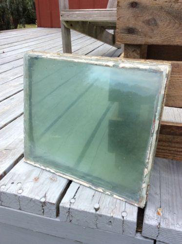 4 Old Wavy Window Panes 12 034 x 10 034 Antique Blue ...