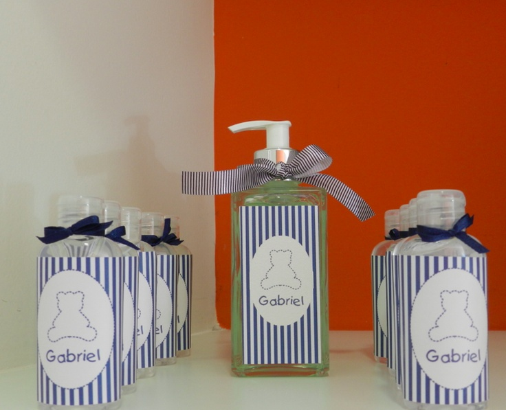 Decoração de maternidade para menino.