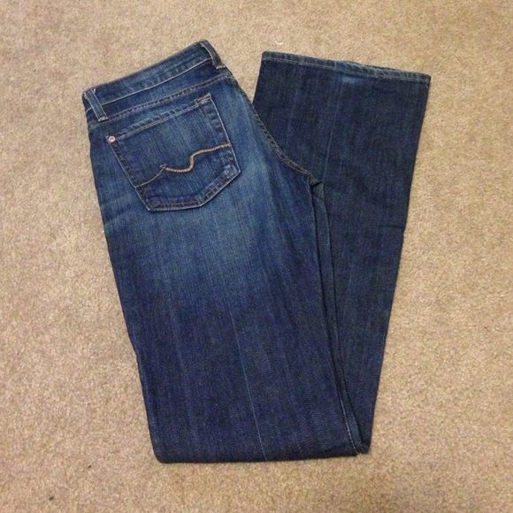Sevens Jeans, 27  Final Price Drop!  MAKE AN OFFER!! Sevens jeans, 27. In new condition. Seven7 Jeans Boot Cut