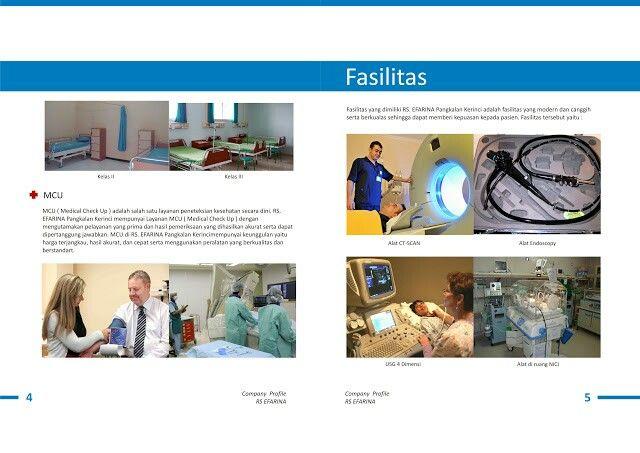 Desain Booklet Company Profile Rumah Sakit