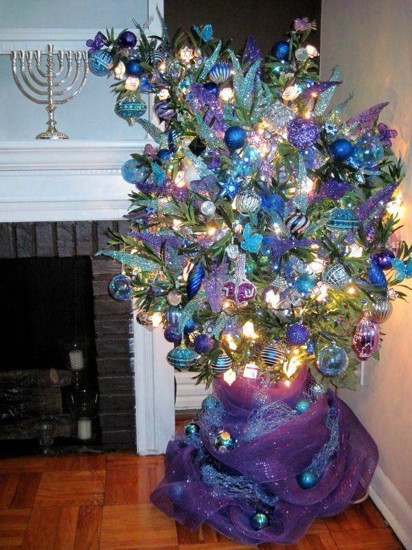 The Hanukkah bush: