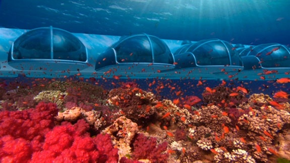 Conheça o resort que será construído no fundo do mar