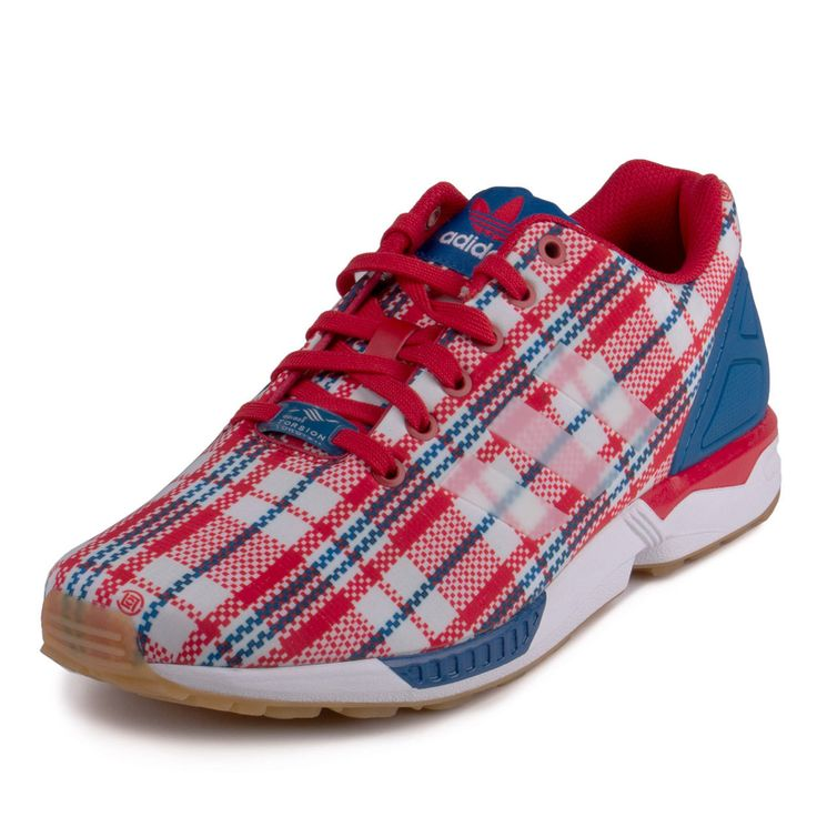 Adidas Flux Blue And Red