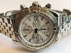 BREITLING CHRONOMAT EVOLUTION MENS WATCH FACTORY MOP DIAL A13356 STEEL SS  Price 2075.0 USD 91 Bids. End Time: 2017-03-24 01:02:24 PDT