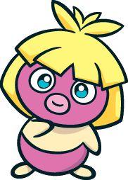 #Smoochum from the official artwork set for #PokemonChannel on Gamecube. http://www.pokemondungeon.com/pokemon-channel