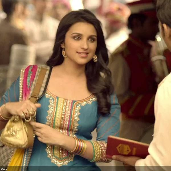 "I play a sensible, sorted girl in Shuddh Desi Romance:- Parineeti Chopra  Shuddh Desi Romance promos and songs may be showing Parineeti Chopra as a chirpy young girl, but actually she plays a quiet and sensible girl in the movie, coming out on September 6.  She said that in the promos, she can be seen as a ""happyy"" and ""bubbly"" girl, ""but in the film I am playing a completely different person""."