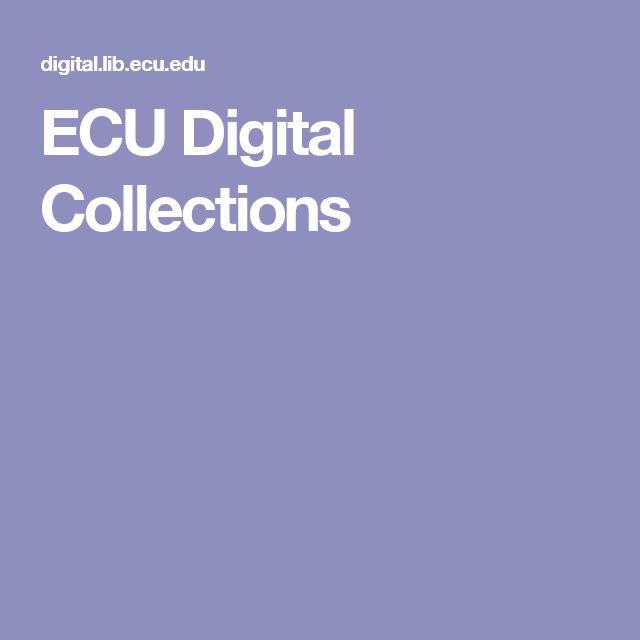 ECU Digital Collections