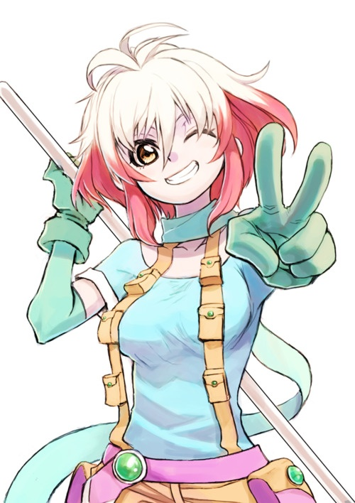 pascal tales of graces | Joe wants me to do my hair like this