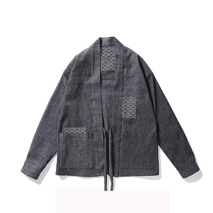 Mens Urban Swag Kimono
