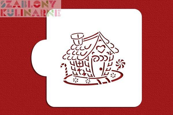 Domek z piernika - kolorowanka