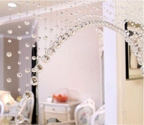 Rasmy Home Decors Customized Crystal Beads Curtain Window Curtain