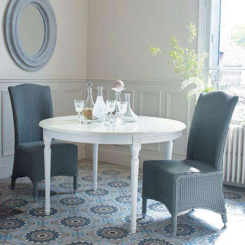 1000 id es propos de table ronde avec rallonge sur pinterest table ronde - Table salle a manger ronde a rallonge ...