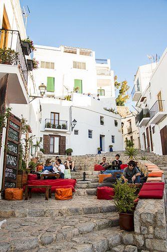 S'Escalinata, Ibiza bar café - White Ibiza