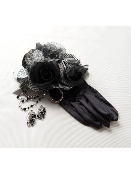 ウエディングドレス、高品質な結婚式ドレスならW by Watabe Wedding / ブラック・シルバー・プリンセスライン・カラードレス
