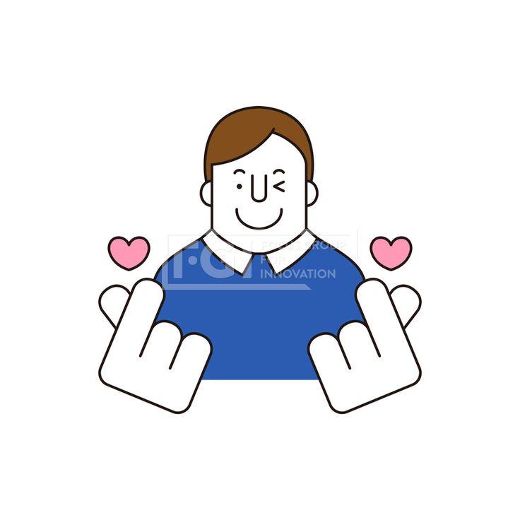 ILL161, 프리진, 일러스트, 생활, 사람, ILL161, 캐릭터아이콘, 캐릭터, 인물, 손짓, 상반신, 손가락, 핸드모션, 동작, 남자, 남성, 청년, 이벤트, 하트, 사랑, illust, illustration #유토이미지 #프리진 #utoimage #freegine 20066793