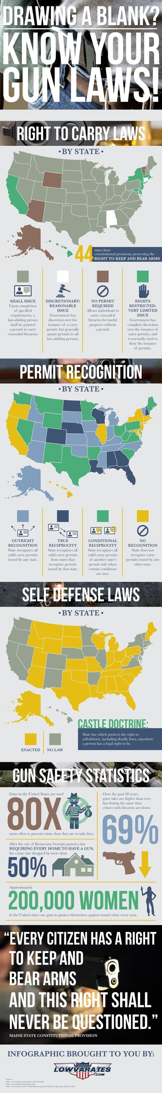 Make sure while carrying your ccw handgun, you also keep up with concealed carry laws. Stay safe and concealed carry everday!