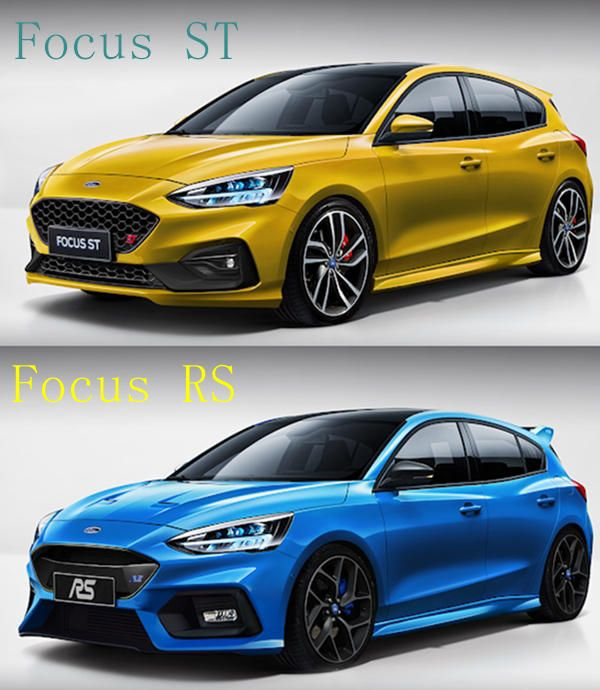 2019 Ford Focus St Rs Active And Other Variants Ford Focus St Ford Focus Ford Focus Hatchback