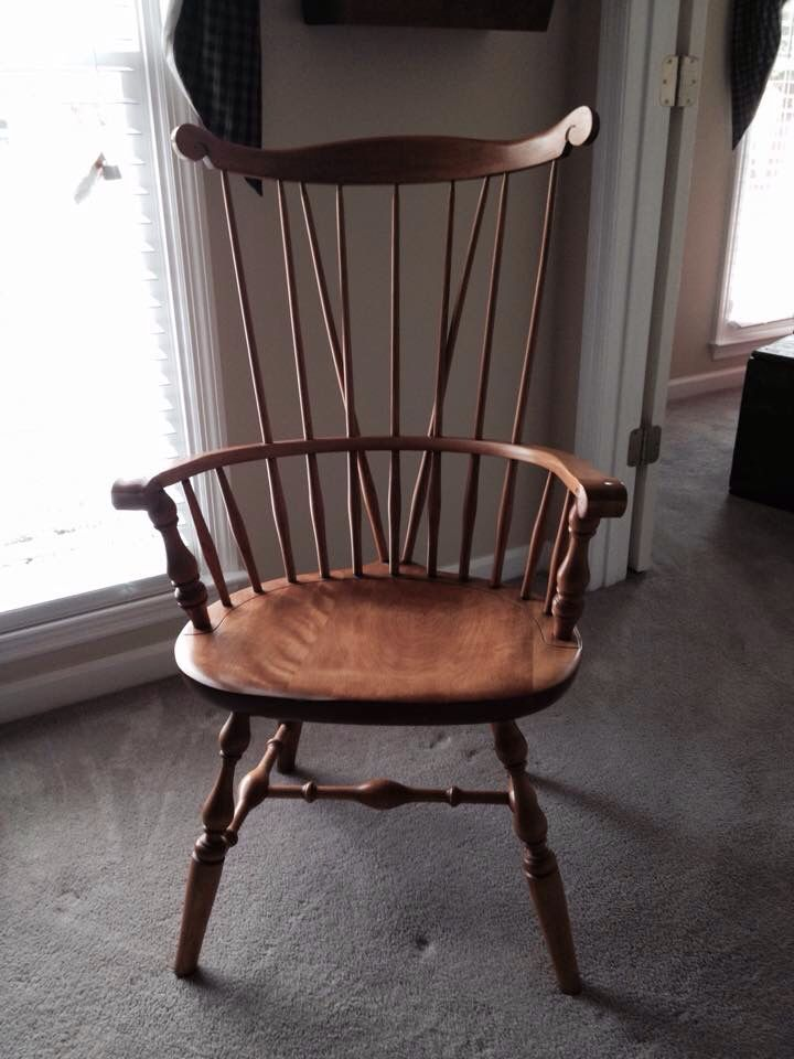 Awesome find at a consignment store! 90.00!!! Nichols & Stone Windsor Chair