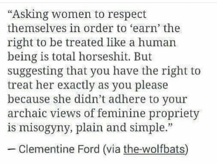 This is my feminism.