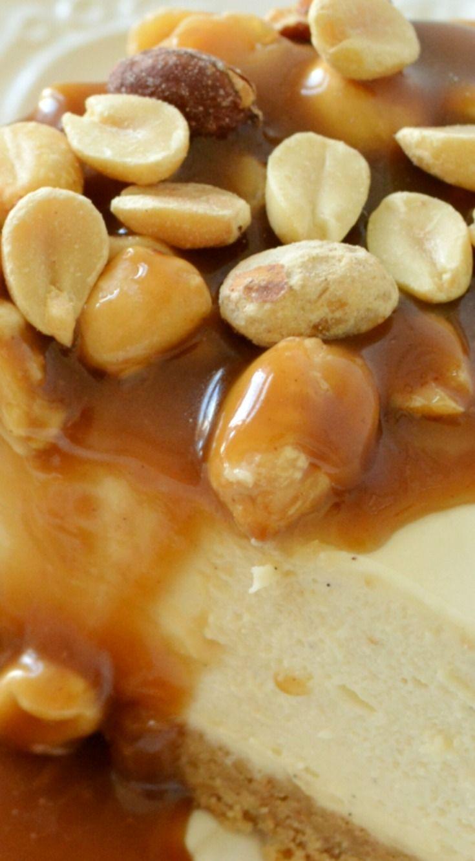 Peanut Butter Maple Caramel Cheesecake Recipe