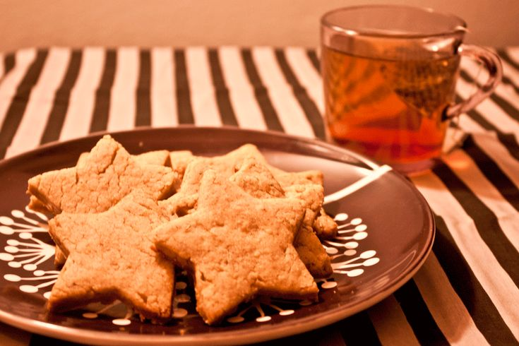 Lemon Scented Rosemary Walnut Shortbread