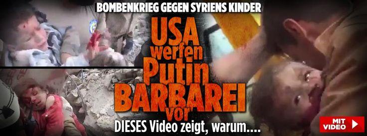 USA werfen Putin Barbarei vor; DIESES Video zeigt warum