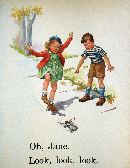 Sally look dick and jane