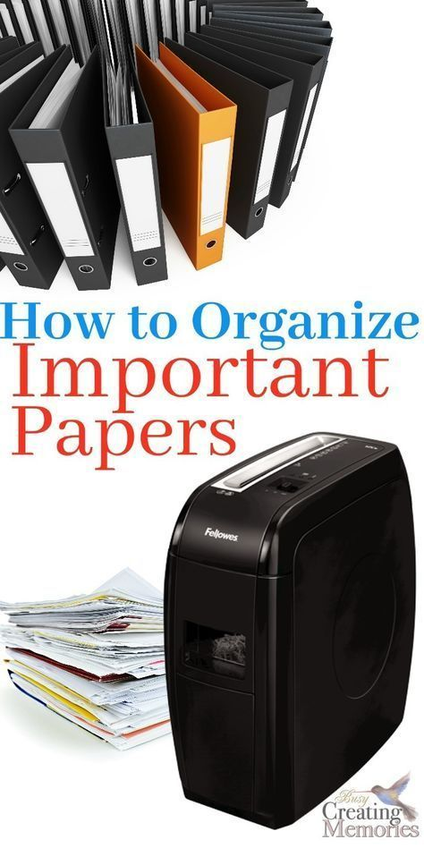Keep all your important documents safe and organized with only 4 tricks. This Simple DIY Filing system shows how to organize important papers for short term & Long term storage to eliminate paper clutter at home! Plus tips on what to keep and what to shre #clutterelimination