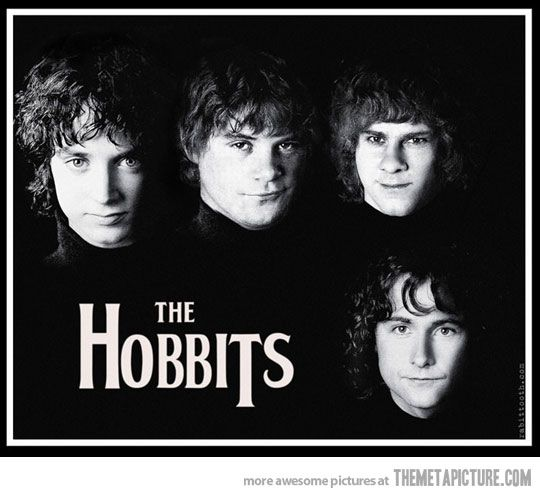 The Hobbits, The Beatles-style