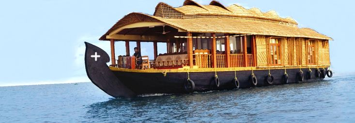 Kerala house boat -- the only way to live!