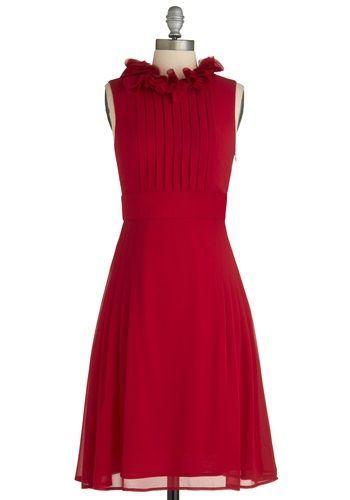 REVEL: Red Bridesmaid's Dresses