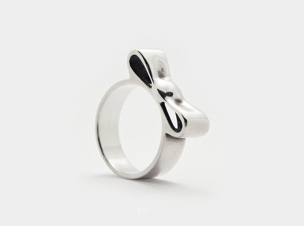 Pared-Down Bow Ring by P3PPERS
