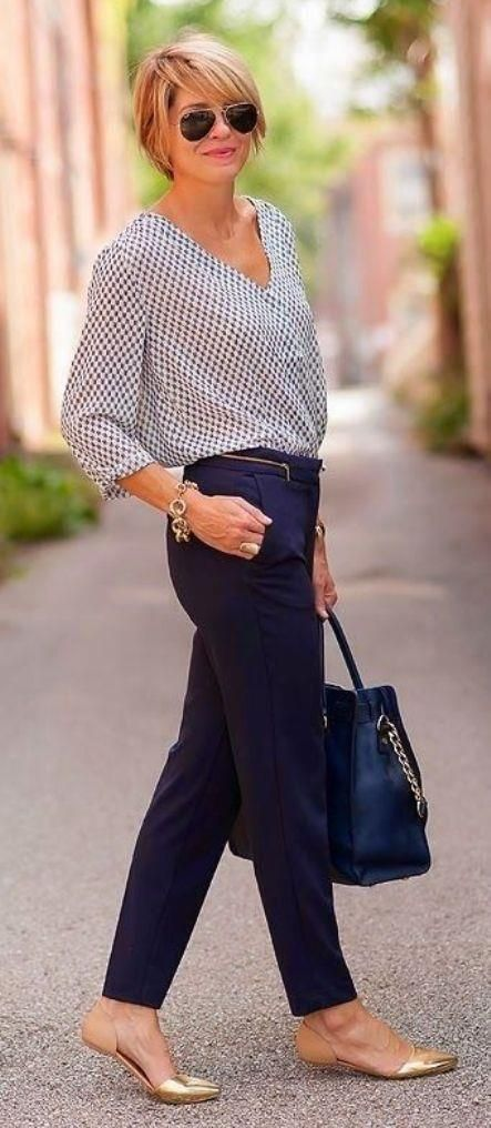 Business Casual Outfits For Women Over 40