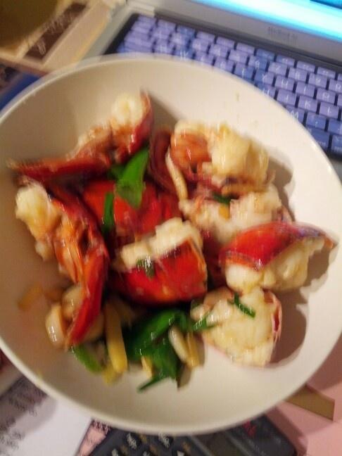 lobster..