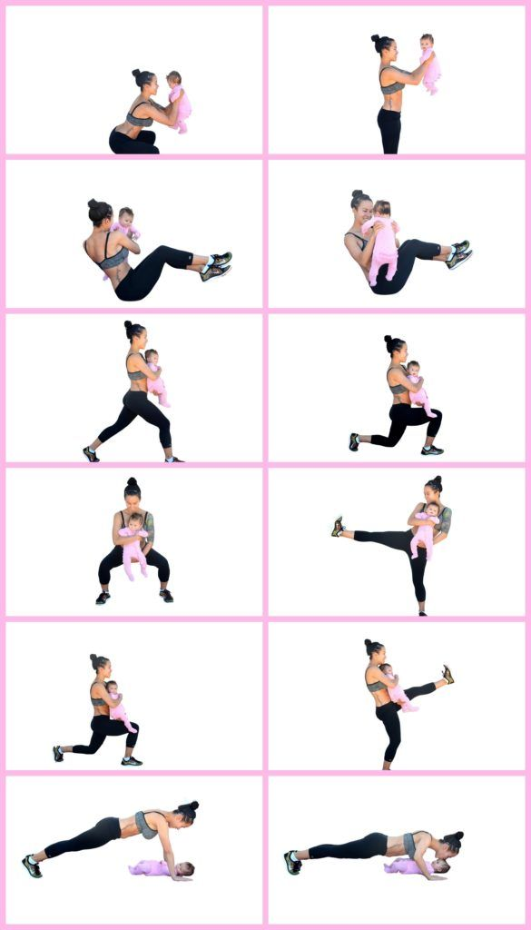Your workouts just got a whole lot cuter - Postpartum workouts are trending +79% YoY on Pinterest