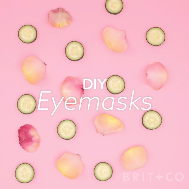 Watch this easy beauty DIY tutorial to learn how to make your own eyemasks for your at-home spa nights.