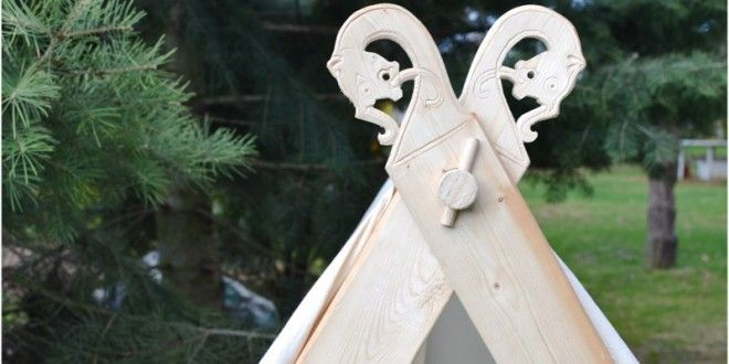 How to Make a Viking Backyard Play Tent