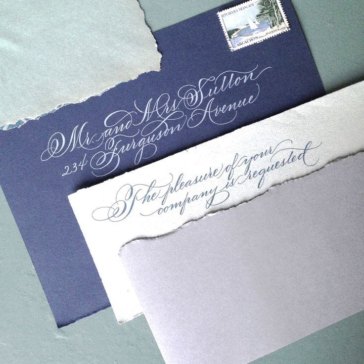 address wedding invitation unmarried couple%0A a study in blues  grays  and greens StudioFrenchBlue com