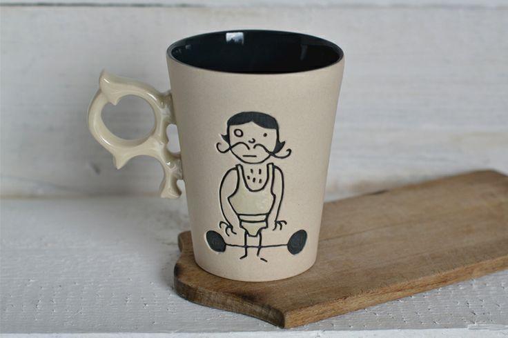 Cup Marius w COCOceramics na DaWanda.com