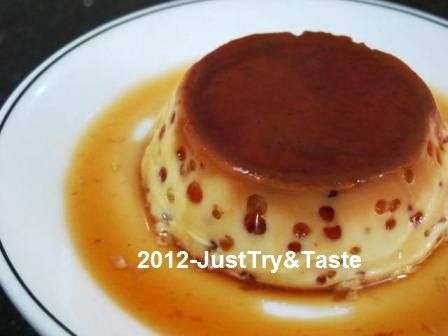 Just Try & Taste: Puding Karamel: Creamy! Yummy!