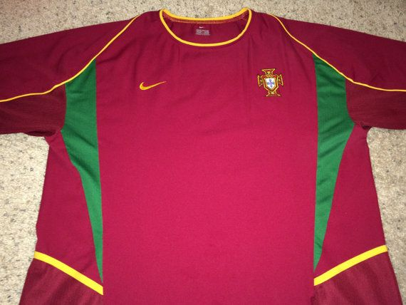 Sale Vintage Nike PORTUGAL Home 2002/2004 Soccer by casualisme
