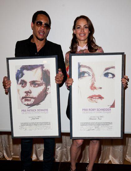 Joey Starr et Bérénice Bejo, prix Patrick Dewaere et Romy Schneider