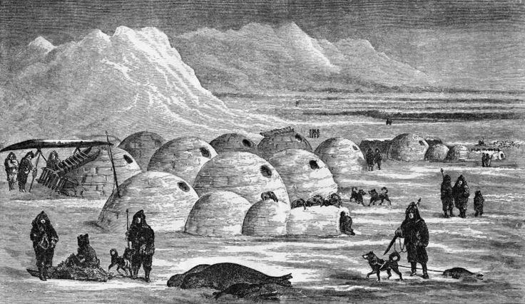 Иглу-традиционное  жилище эскимосов.