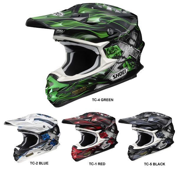 Shoei VFX-W Josh Grant Replica Off Road MX Helmet