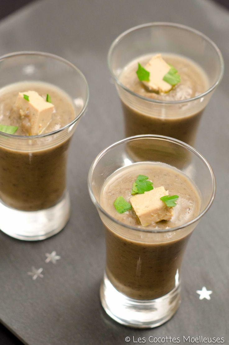 Le velouté de lentilles au foie gras | Les Cocottes Moelleuses