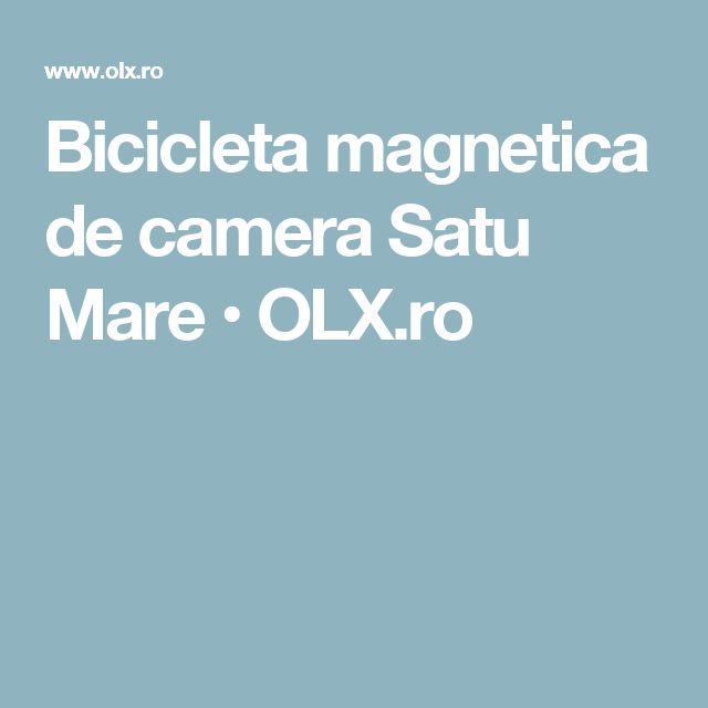 Bicicleta magnetica de camera Satu Mare • OLX.ro