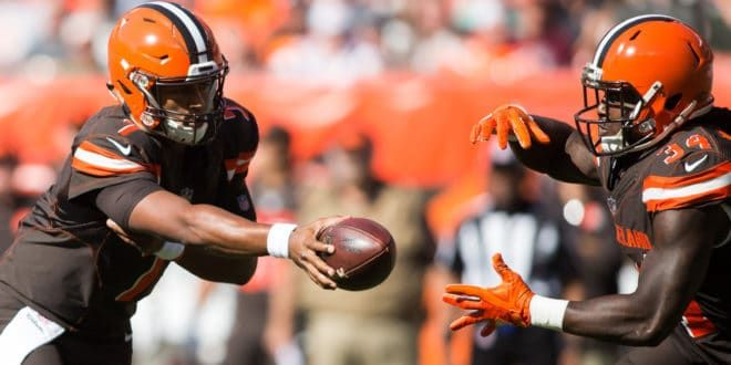 NFL Week Eight Match Up: Vikings at Browns – GET MORE SPORTS