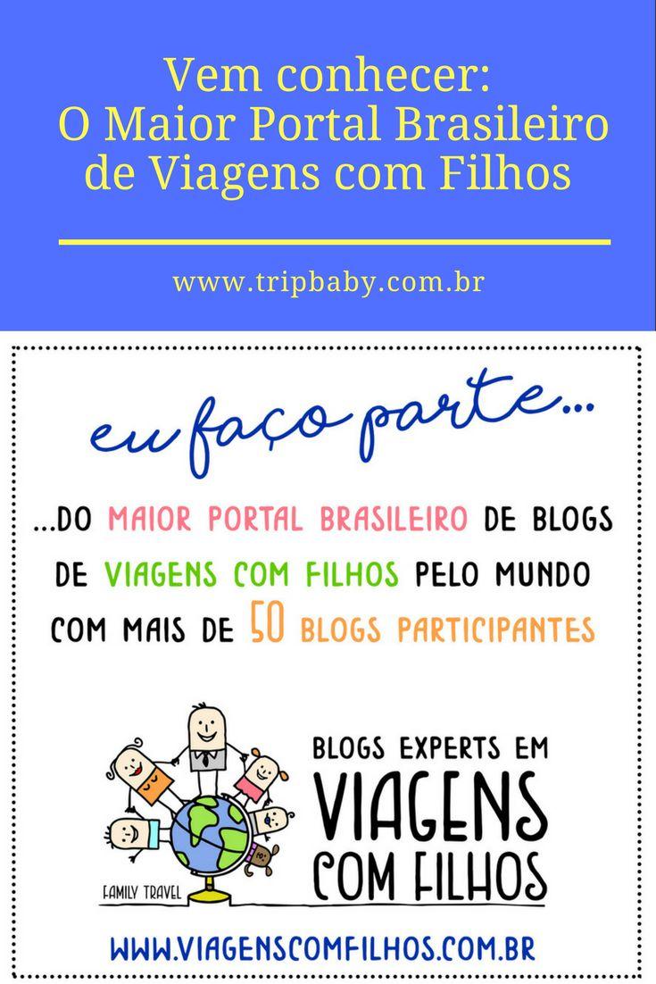 No dia 12/10017 foi lançado o maior portal brasileiros de blogs de Viagens com Filhos. São mais de 50 blogs participantes.