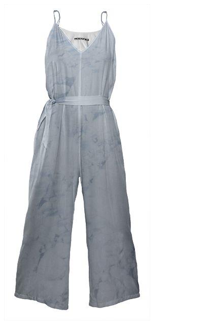 ATLANTIC ICE Tie Waist Jumpsuit By Anja Popp $178.00