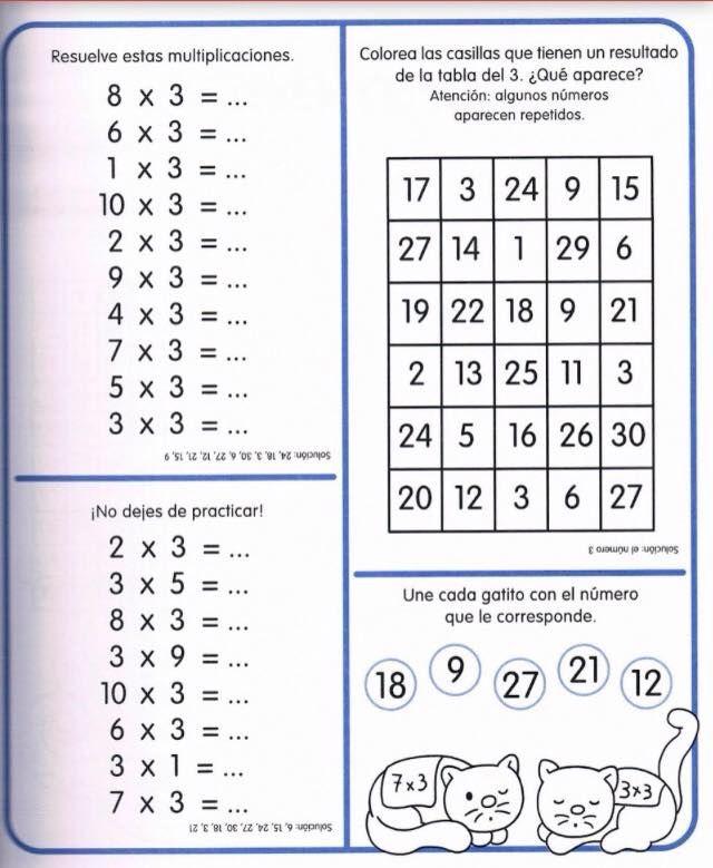 250 Fichas Para Trabajar Las Tablas De Multiplicar Página 047 En 2020 Tablas De Multiplicar Hojas De Trabajo De Multiplicación Tabla De Multiplicar Para Imprimir